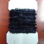 Black Rayon Chennille